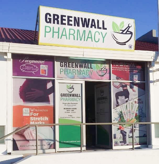 Greenwall Pharmacy banner